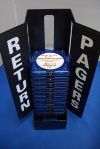 Rückgabe-Station Logistik-Pager