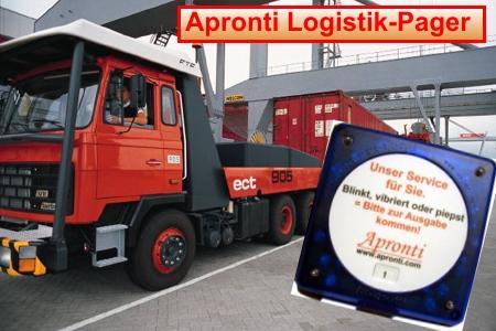 Logistik-Pager Apronti von Alpha11