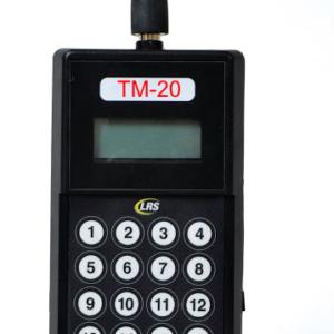 TM20-Sendestation um im Bereich Logistik, die Fahrer-Pager zu rufen